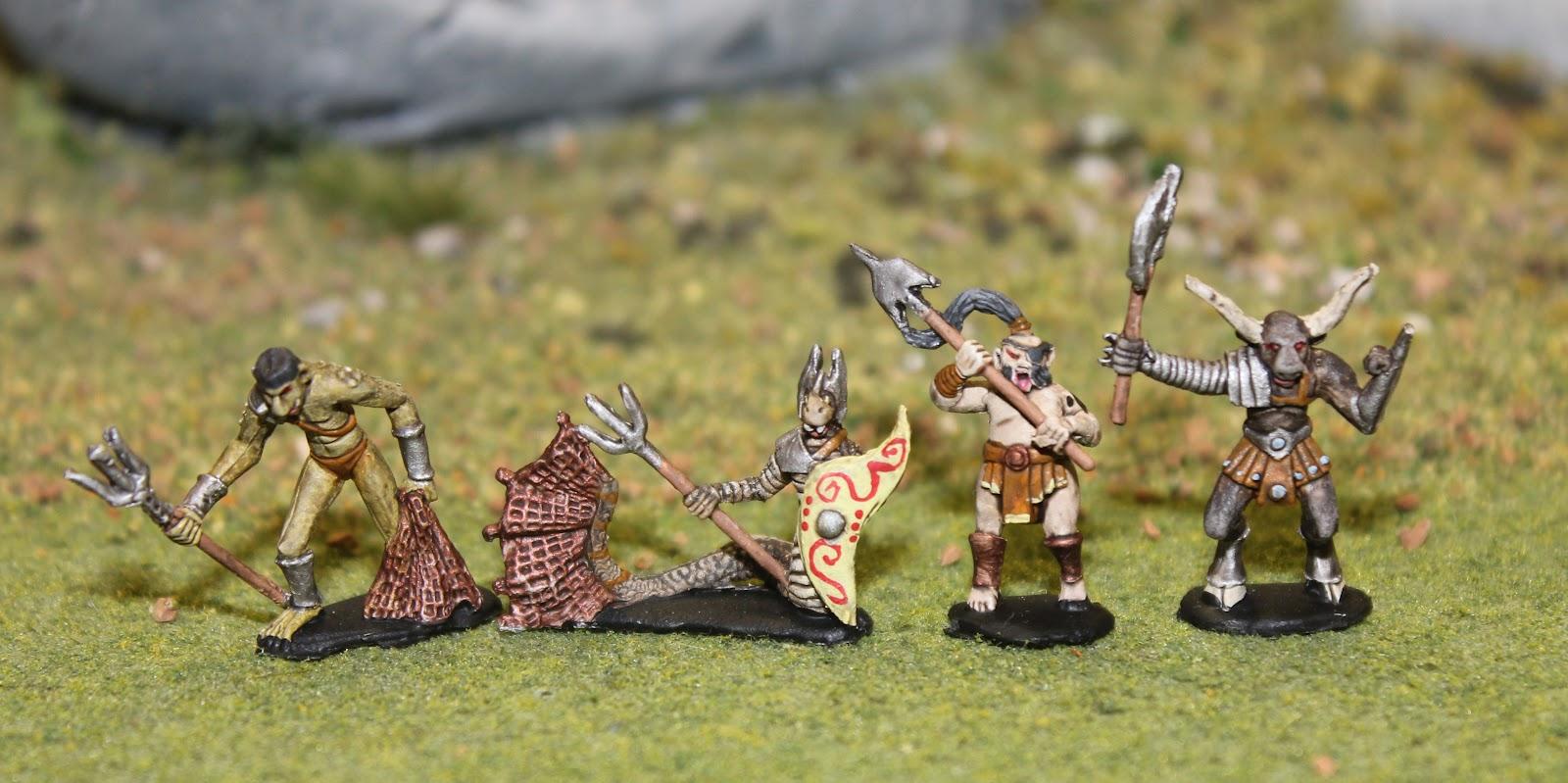 Splintered Light Miniatures: 15mm Fantasy Gladiator Preview