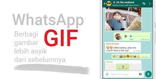 Cara Mengirim dan Menerima Gambar Gif di Whatsapp