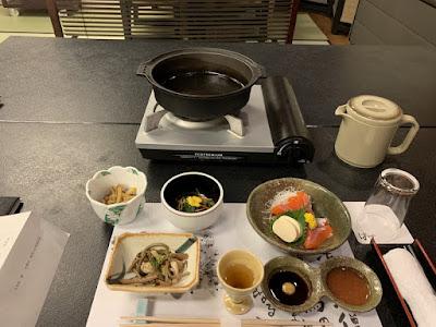 はづ別館の夕食