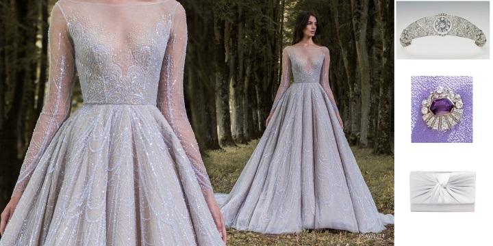 8e7d18e8cec Molly Claire - Molly Claire would love to see Kate wearing the sky blue  Jenny Packham Iona gown from the SS19 Collection. The embellished gown is  teamed ...