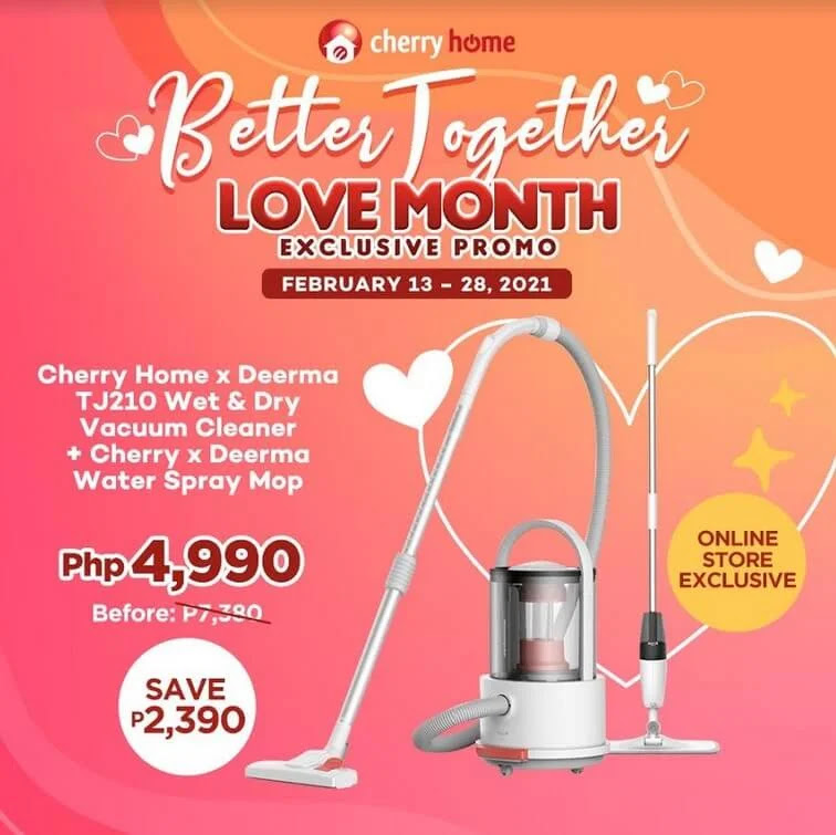 Celebrate the Month of Love with Cherry Home's Better Together Promo