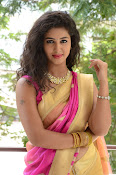 pavani new photos in saree-thumbnail-37