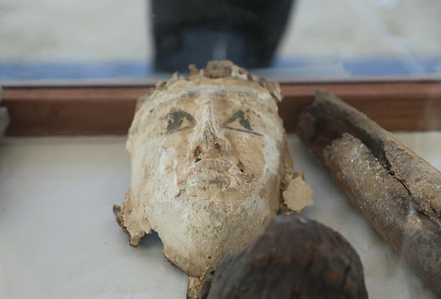 Communal tombs for high priests uncovered Upper Egypt