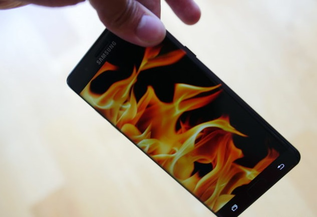 Samsung Fire Incident