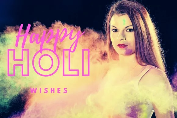 Best Happy Holi Msg Wishes Messages Images Photo [Hindi]