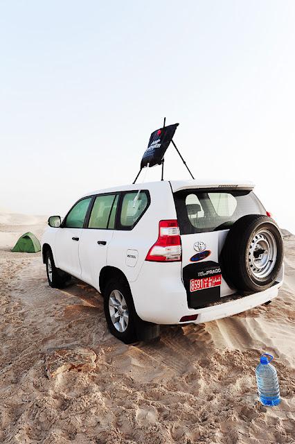 divje kampiranje Oman