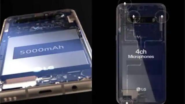 LG V60 ThinQ akıllı telefon çevrimiçi sızdı, 4 mikrofon, 5.000mAh pil ile geliyor