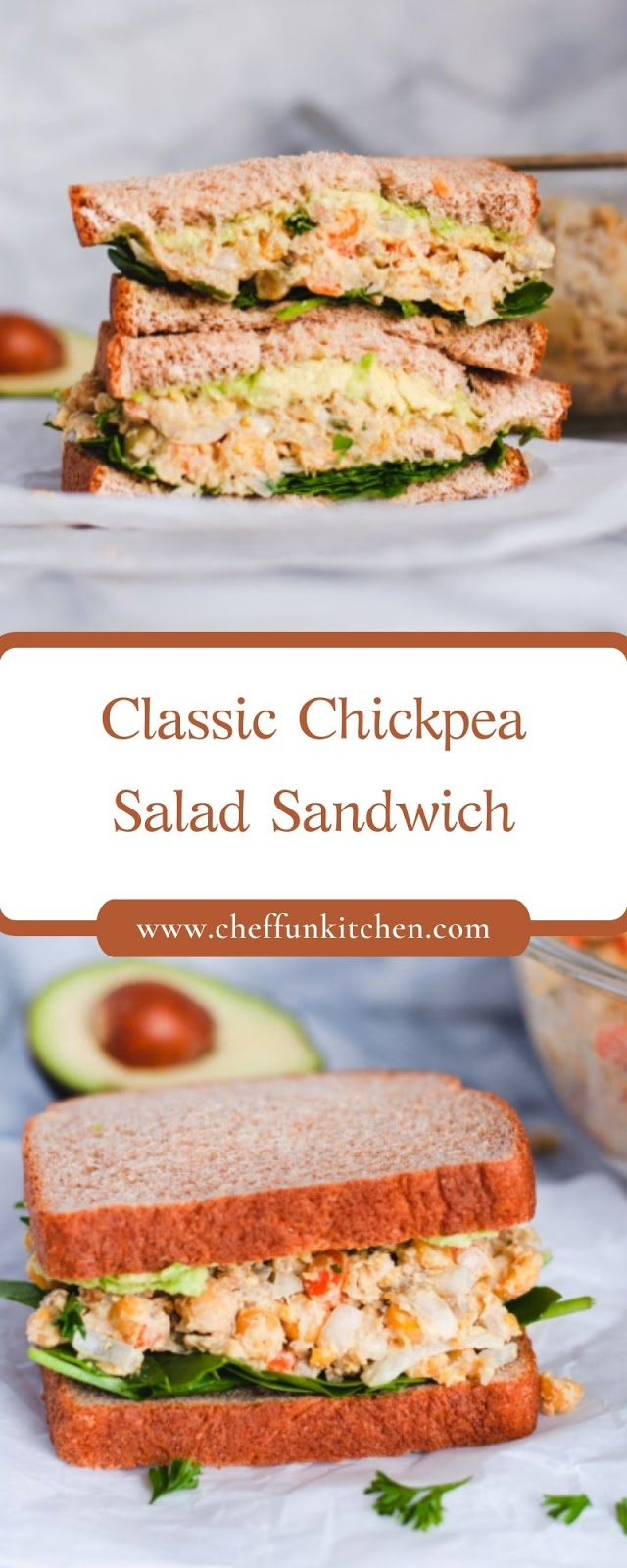 Classic Chickpea Salad Sandwich
