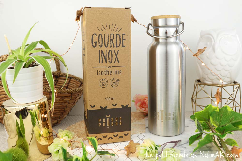 gourde  isotherme Pousse Pousse