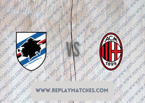Sampdoria vs AC Milan Full Match & Highlights 23 August 2021