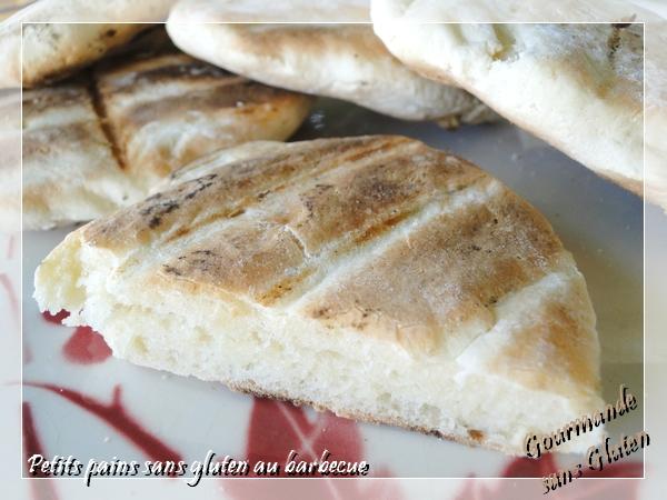 Petits pains sans gluten au barbecue