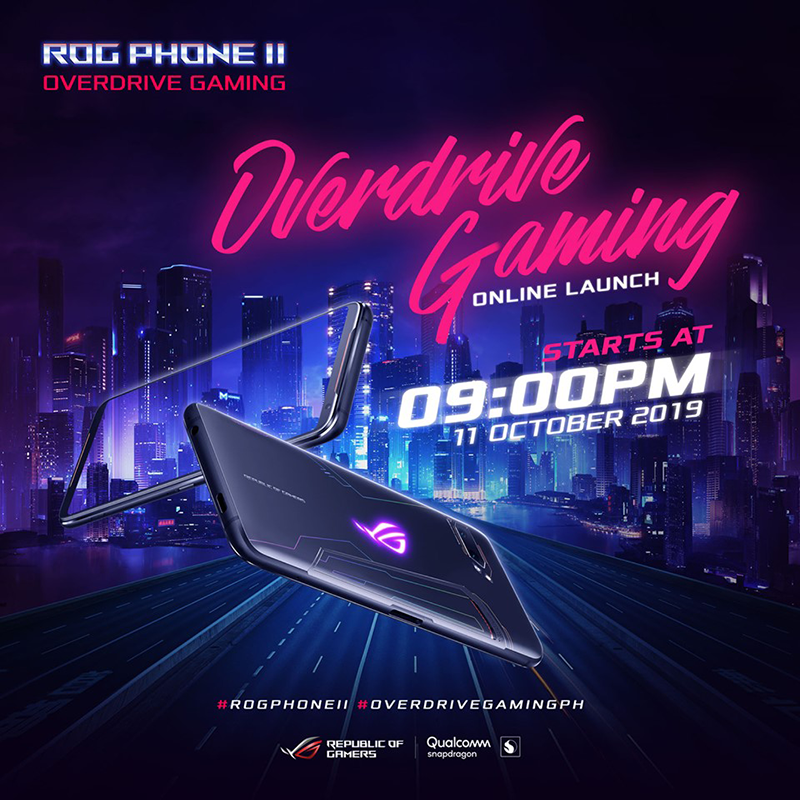 ASUS ROG Phone II is set to hit PH on October 11