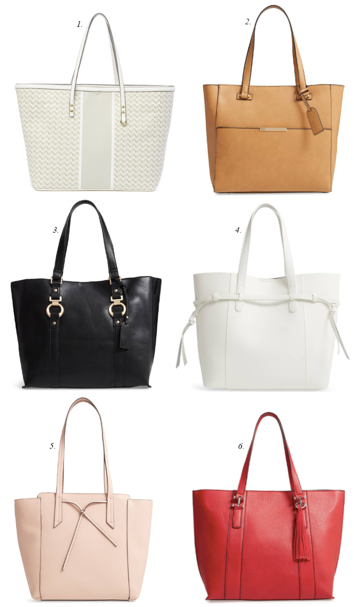 nordstrom spring totes, white totes for spring