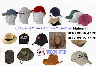 Pusat Produksi Souvenir / Merchandise Topi di tangerang