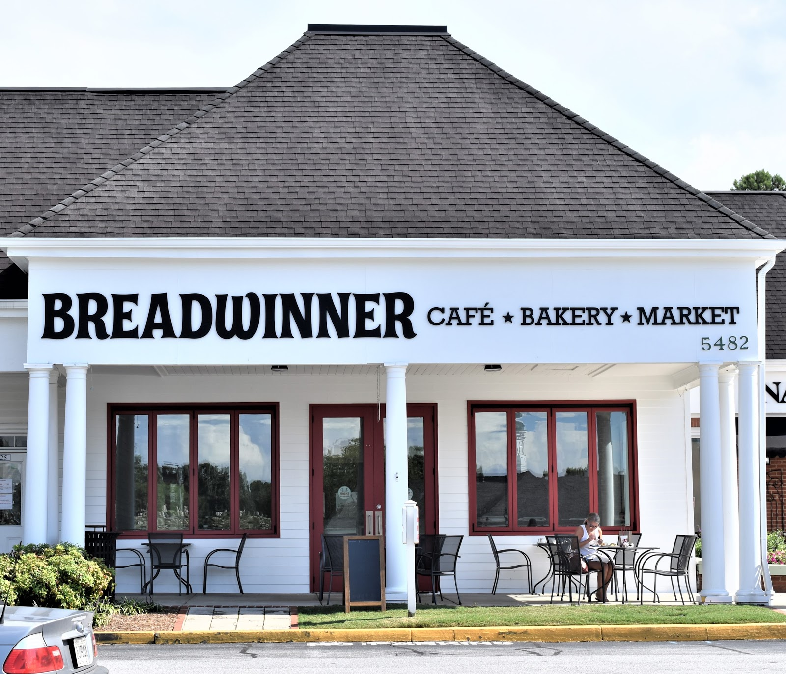 Lunch at Breadwinner Cafe & Bakery in Dunwoody