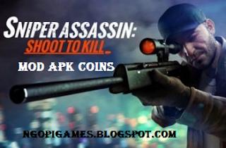 Download Sniper 3D Assassin Mod Coins Apk