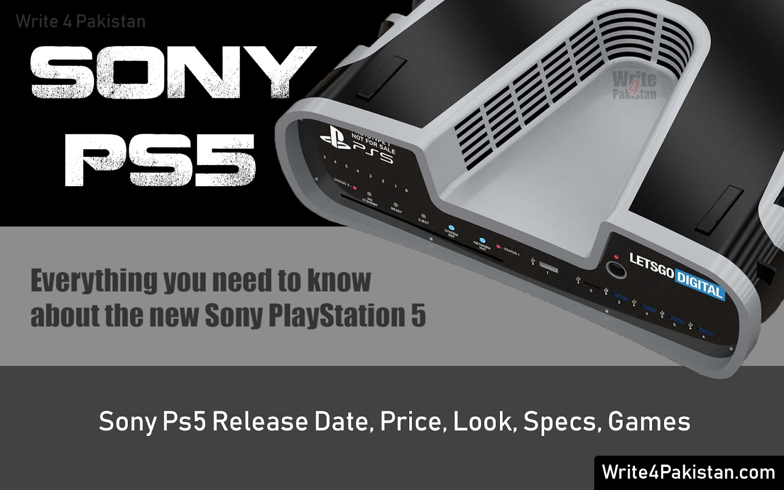 PS5, Playstation 5, SONY PS5, PS5 Release date, ps5 price, ps5 specs, ps5 games, ps5 design, ps5 look, ps5 price in pakistan, ps5 news