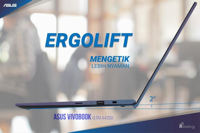 ASUS VivoBook 14 A412DA - Ergolift