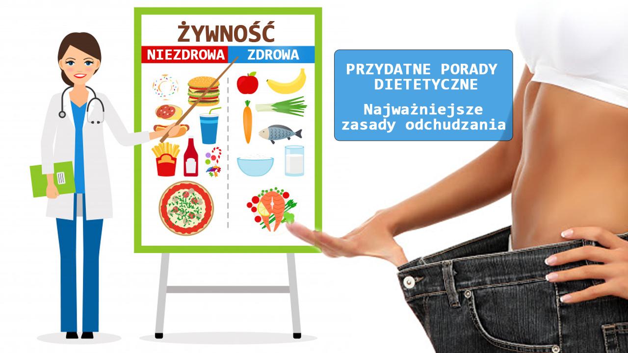 Najważniejsze zasady odchudzania – przydatne porady dietetyczne