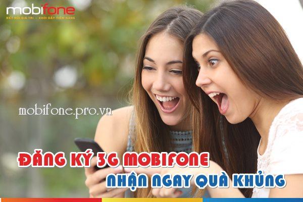 Đăng ký 3G Mobifone nhận quà khủng trong năm 2017
