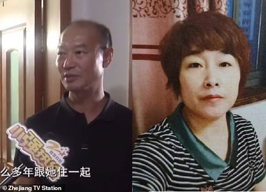 Chinese man is arrested for 'killing his wife, dismantling her body and flushing her remains down the toilet' (photos)