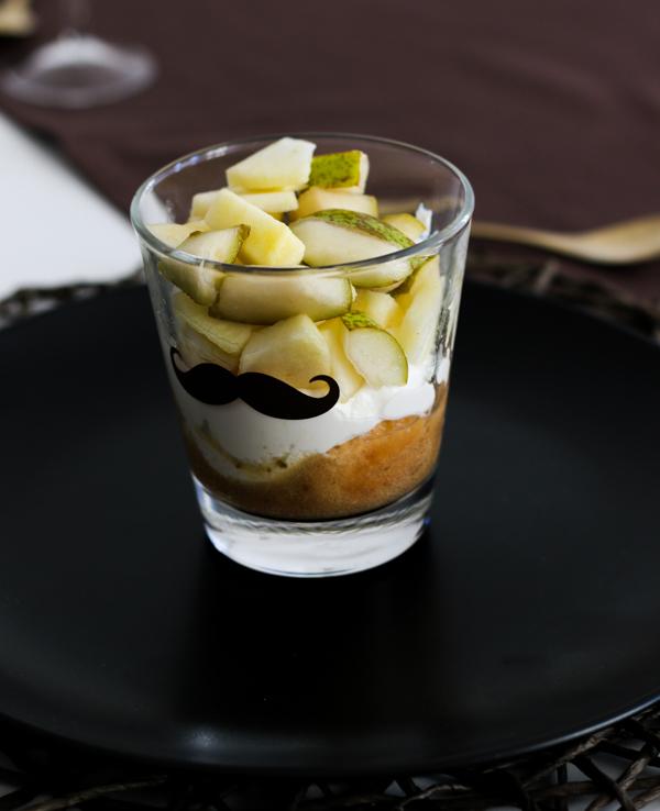 Herbst Dinner, Menü, Fleurcoquet, Apfel-Birnen-Tiramisu, Café et le Dîner