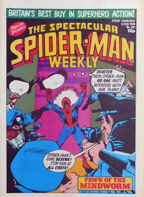 Spectacular Spider-Man Weekly #362, the Mindworm
