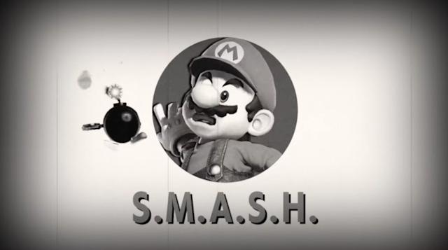 Mario bob-omb Vault Boy Mii Fighter trailer Super Smash Bros. Ultimate