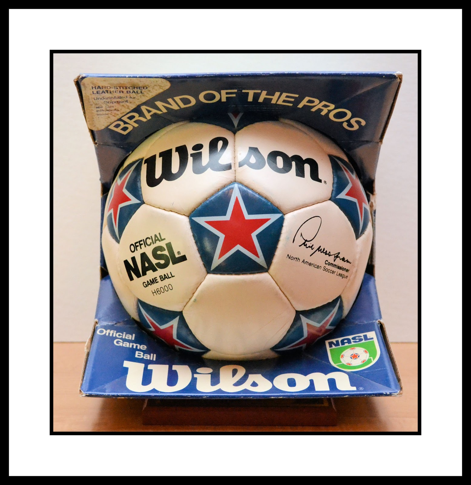 9f8dcafccf9 NORTH AMERICAN SOCCER LEAGUE  WILSON NASL GAME BALL