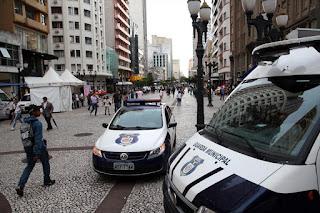 Guarda Municipal de Curitiba (PR) dá dicas de segurança