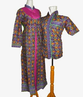 model baju batik sarimbit gamis
