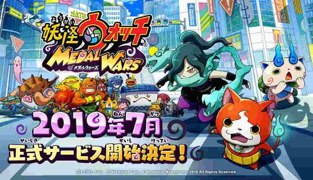 Game Smartphone Netmarble Yo-Kai Watch Medal Wars Dirilis di Jepang Bulan Juli