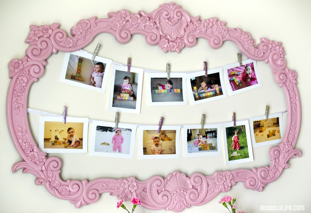 A Bubbly Lifepink Girly Budget Diy First Birthday A Bubbly Life