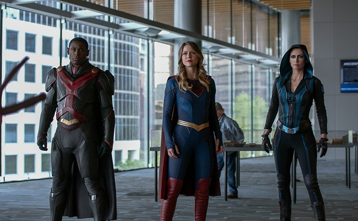 Supergirl - Episode 6.13 - The Gauntlet - Promo, Featurette, Promotional Photos + Press Release