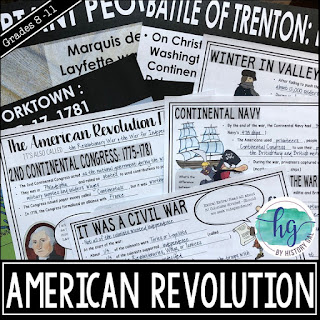 Thumbnail American Revolution PowerPoint by History Gal