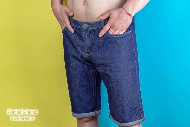 Джинсовые шорты для мужчины Фаберлик (Артикул: 522613 – 522621):  отзывы с фото
