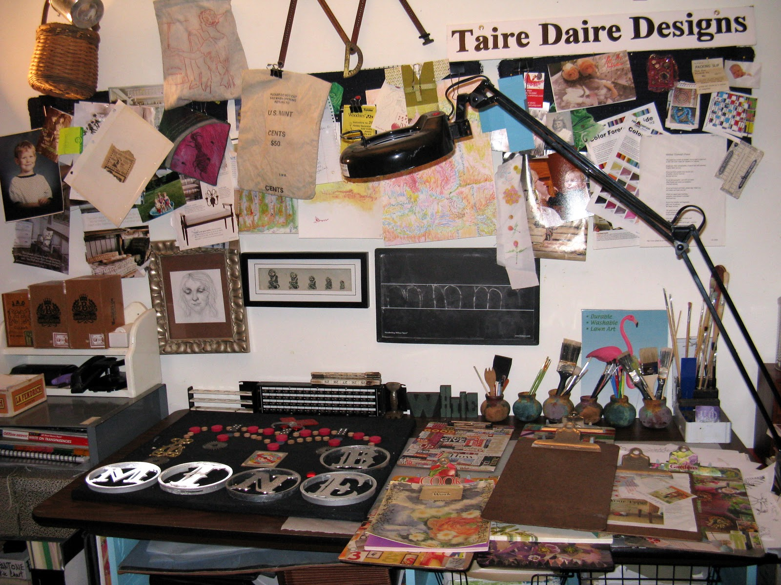 Upcycle Home Design Small Art Studio Make Over First