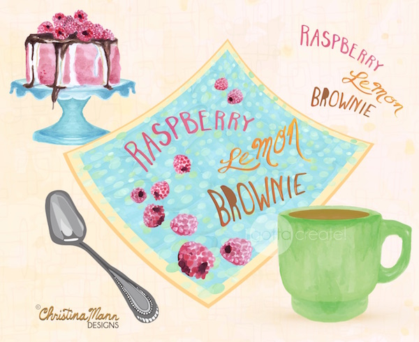 Christina Mann Designs:  lettering and designs for licensing