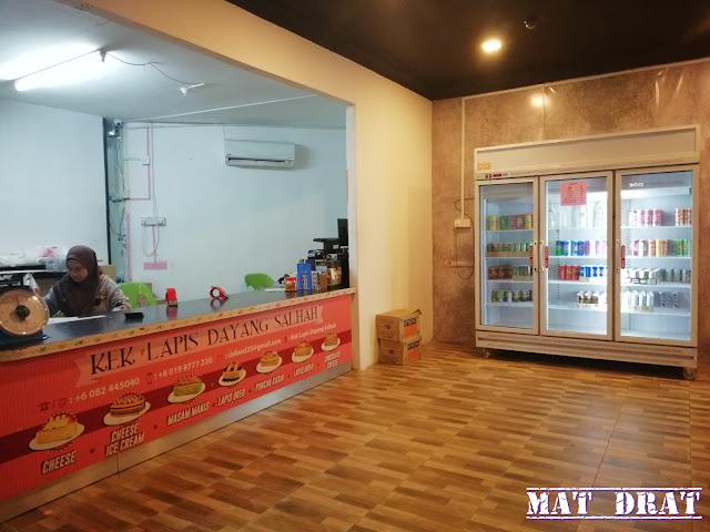 Kek Lapis Dayang Salhah Sarawak di Kuching Sedap