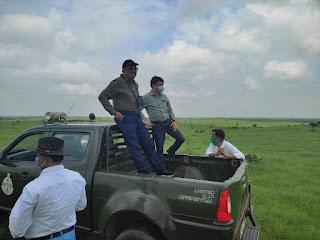 कलेक्टर श्री सिंह ने किया सरदारपुर विकासखंड का दौरा