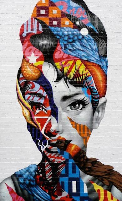 Grafiti Terbaik 2015 - Abstrak terbaik, Lukisan Abstrak Indah, wanita