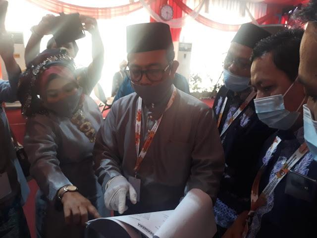Dokumen Pengusung Partai Politik Gerindra Pengusung Paslon Gubernur Jambi terhambat Akibat Beda SK