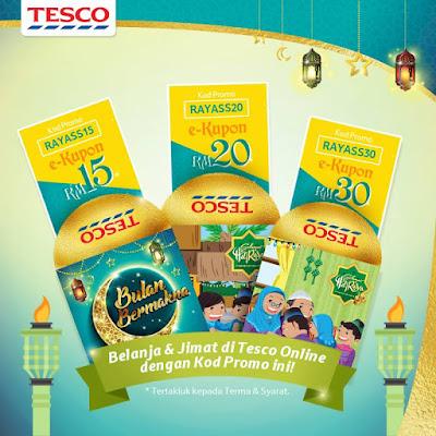 Tesco Malaysia Online Store Promo Code Discount Coupon