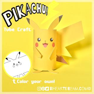 Pikachu printable activities