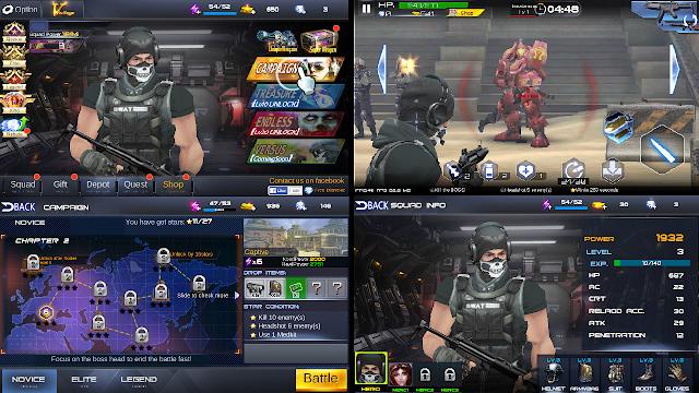 Game Tembakan Offline Android Gun War : Shooting Games - Ukurannya Kecil