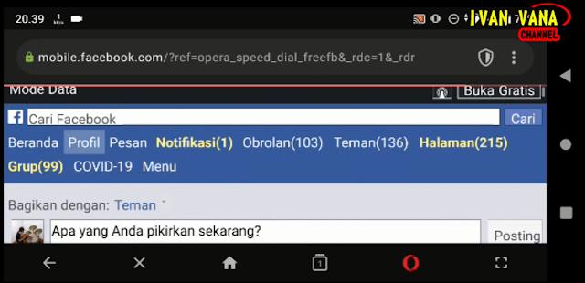 Cara Download Video Facebook Di Android Via Opera Mini