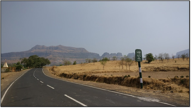 Harihar fort, road to Harihar fort