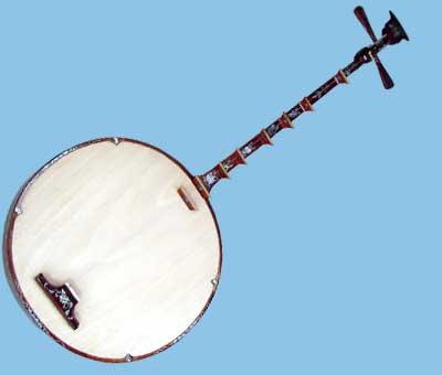 dan nguyet two string guitar vietnam traditional instruments. Black Bedroom Furniture Sets. Home Design Ideas