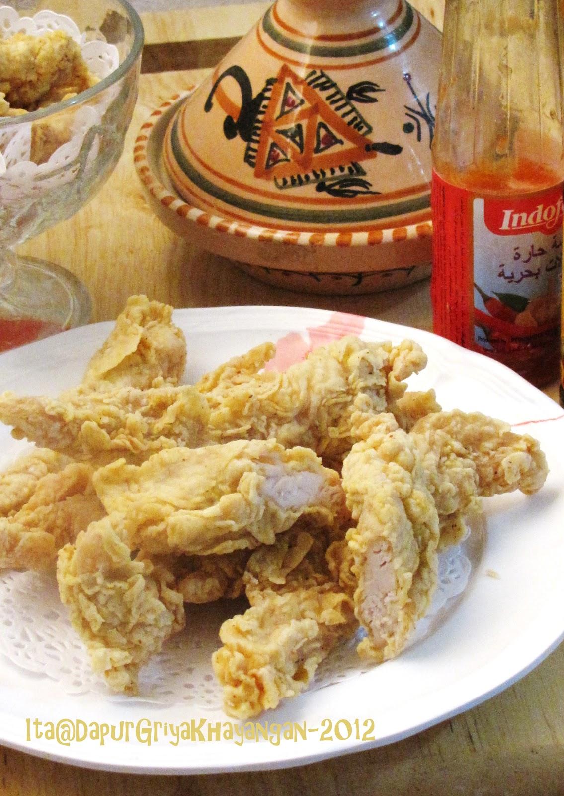 Fillet Ayam Goreng Tepung Keriting