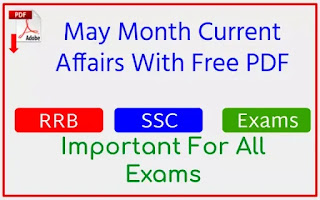 Monthly Current Affairs__May 2021